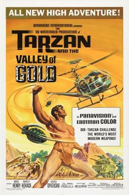 Tarzan and the Valley of Gold movie poster (1966) poster MOV_b9307d9e