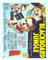 Blackboard Jungle movie poster (1955) picture MOV_b9415216