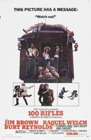 100 Rifles movie poster (1969) picture MOV_b9460b53