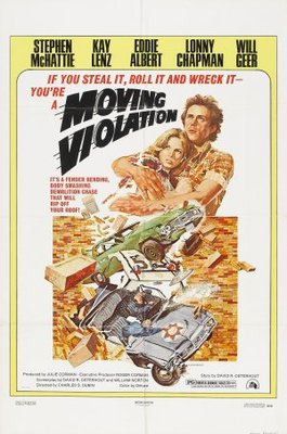 Moving Violation movie poster (1976) poster MOV_b94d4a28