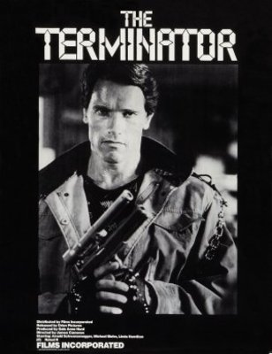 The Terminator movie poster (1984) poster MOV_b96a7dd4