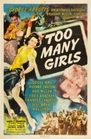 Too Many Girls movie poster (1940) picture MOV_b970ccfd