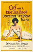 Cat on a Hot Tin Roof movie poster (1958) picture MOV_b972dac1