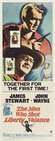 The Man Who Shot Liberty Valance movie poster (1962) picture MOV_b9a258bb