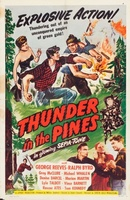 Thunder in the Pines movie poster (1948) picture MOV_b9caeb37