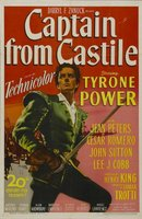 Captain from Castile movie poster (1947) picture MOV_87f70127