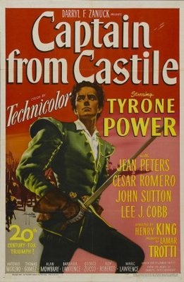 Captain from Castile movie poster (1947) poster MOV_b9ce5b2c