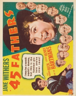 45 Fathers movie poster (1937) poster MOV_b9d2737d