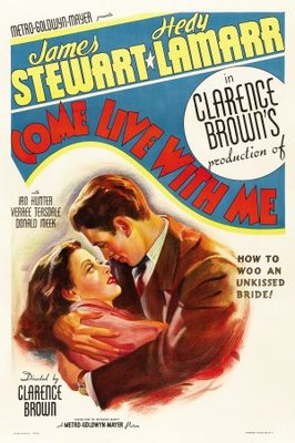 Come Live with Me movie poster (1941) poster MOV_b9e36c7a