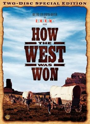 How the West Was Won movie poster (1962) poster MOV_b9e6fbea