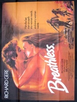 Breathless movie poster (1983) picture MOV_19489d90