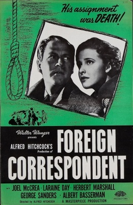 Foreign Correspondent movie poster (1940) poster MOV_b9f0610e