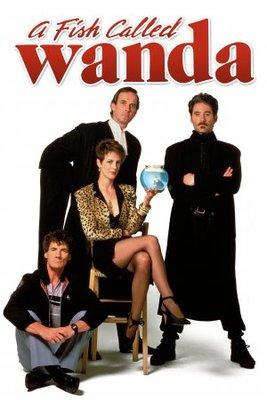 A Fish Called Wanda movie poster (1988) poster MOV_ba0e399f