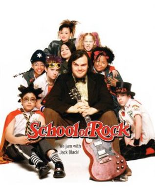 The School of Rock movie poster (2003) poster MOV_ba0f3ada