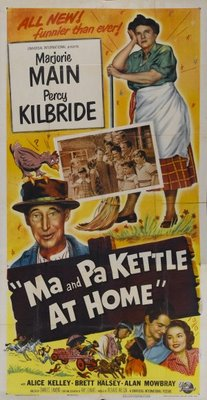 Ma and Pa Kettle at Home movie poster (1954) poster MOV_ba16bc74
