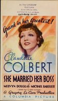 She Married Her Boss movie poster (1935) picture MOV_ba25b7cb