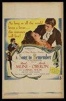 A Song to Remember movie poster (1945) picture MOV_ba67c638