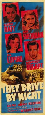 They Drive by Night movie poster (1940) poster MOV_ba6ee63f