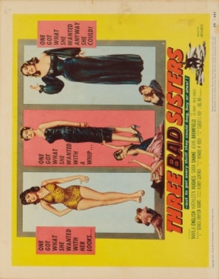 Three Bad Sisters movie poster (1956) poster MOV_ba7a2969