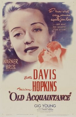Old Acquaintance movie poster (1943) poster MOV_ba7cd859