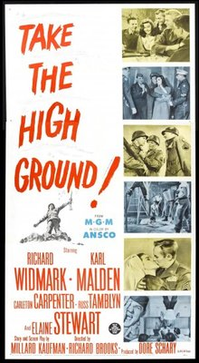 Take the High Ground! movie poster (1953) poster MOV_ba83d9d6