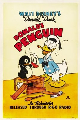 Donald's Penguin movie poster (1939) poster MOV_ba8b127e