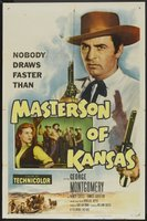 Masterson of Kansas movie poster (1954) picture MOV_ba8c85b4