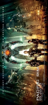 Pacific Rim movie poster (2013) poster MOV_ba98b437