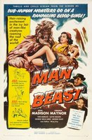 Man Beast movie poster (1956) picture MOV_baa84254