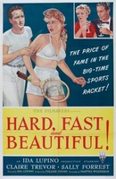 Hard, Fast and Beautiful movie poster (1951) picture MOV_baa9b643