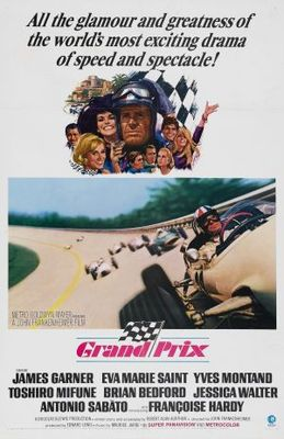 Grand Prix movie poster (1966) poster MOV_badba923