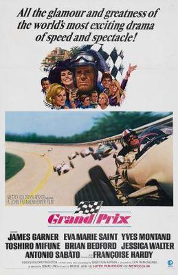 Grand Prix movie poster (1966) poster MOV_badba923