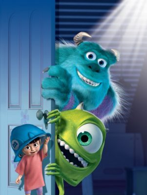 Monsters Inc movie poster (2001) poster MOV_bae81fe1