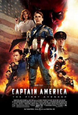 Captain America: The First Avenger movie poster (2011) poster MOV_bae9cfc1