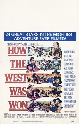 How the West Was Won movie poster (1962) poster MOV_baebfd85