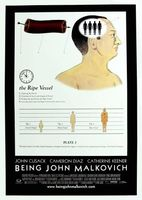 Being John Malkovich movie poster (1999) picture MOV_3f018eb2