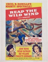 Reap the Wild Wind movie poster (1942) picture MOV_bb002707