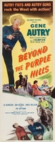 Beyond the Purple Hills movie poster (1950) picture MOV_bb083eb4