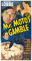 Mr. Moto's Gamble movie poster (1938) picture MOV_bb0b2a8a