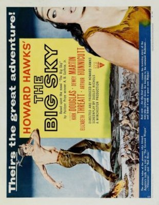 The Big Sky movie poster (1952) poster MOV_bb1200a7