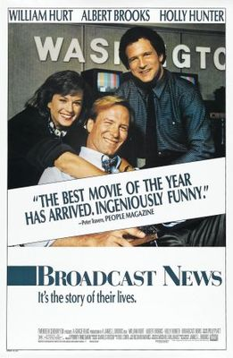 Broadcast News movie poster (1987) poster MOV_bb503784