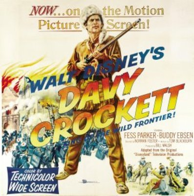 Davy Crockett, King of the Wild Frontier movie poster (1954) poster MOV_bb51682f