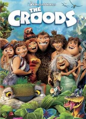 The Croods movie poster (2013) poster MOV_bb58b858