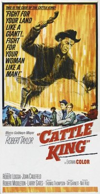Cattle King movie poster (1963) poster MOV_bb89a81b