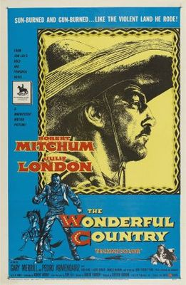 The Wonderful Country movie poster (1959) poster MOV_bbe2d5ee