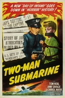Two-Man Submarine movie poster (1944) picture MOV_bbeff74c
