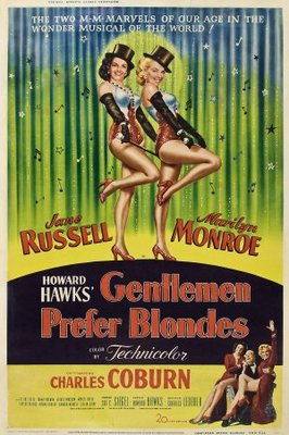 Gentlemen Prefer Blondes movie poster (1953) poster MOV_bc0743fb