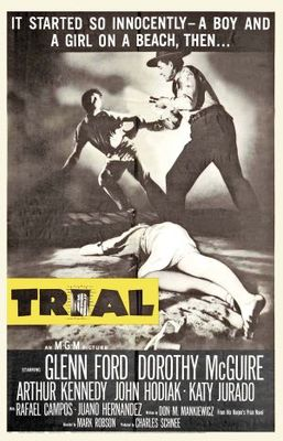 Trial movie poster (1955) poster MOV_bc0b92f1