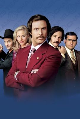 Anchorman: The Legend of Ron Burgundy movie poster (2004) poster MOV_bc14e90b