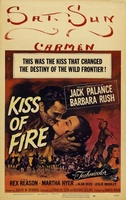 Kiss of Fire movie poster (1955) picture MOV_bc20dc46
